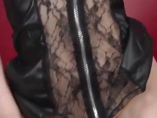 Aya Kisaki, wife in lingerie, blows a big dick in POV