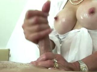 British mature tit job slut
