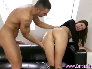 British mature with long legs fucked doggystyle