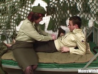 Pierced Pussy Senior Army Officer Reprimands A Soldier