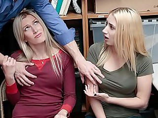 Cop Fucked Daughter For Mom's Shoplifter